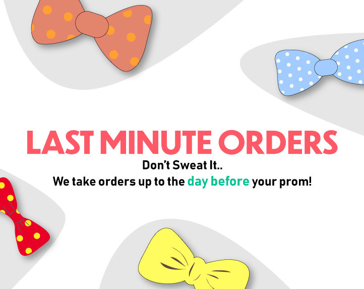 Last Minute Orders on Prom Tuxedo and Suit Rentals Indiana