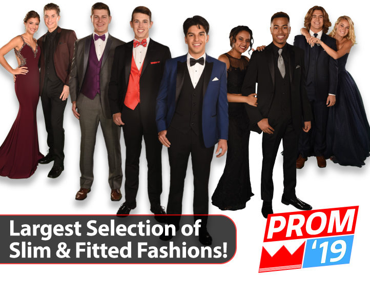 Slim Fit and Fitted Prom Tuxedos and Suits 2020