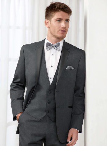Indiana Dark Steel Grey Wedding Tuxedo suit