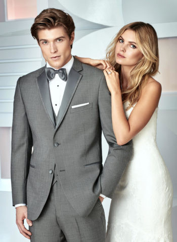 Indiana Grey Wedding Tuxedo Suit