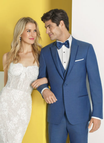 Indiana Light Dusk Blue Wedding Tuxedo Suit